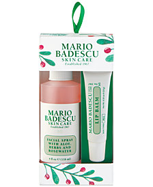 Mario Badescu 2-Pc. Facial Spray & Lip Balm Ornament Set
