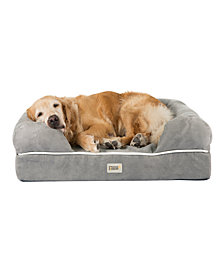 Friends Forever Chester Pet Couch with Solid Memory Foam, Large