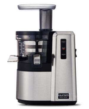 Our top-of-the-line Hurom Hz slow juicer is powered by our newest technology and is cased in stainless steel. The Hz\\\'s Alpha technology features optimized juicing, easier cleaning and the ability to make ice cream. The Hz also comes with a long list of accessories.
