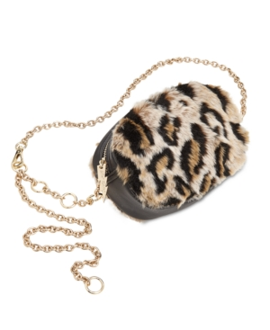 Betsey Johnson FAUX FUR BELT BAG