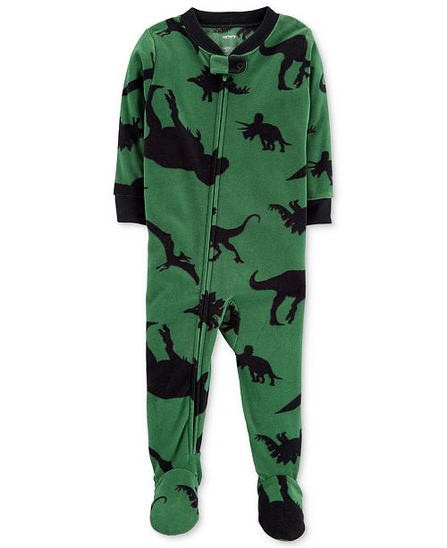 ab124bf3ba3c Carter s Baby Boys Dino-Print Footed Pajamas   Reviews - Pajamas ...