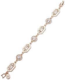 Ivanka Trump Gold-Tone Stone & Crystal Link Bracelet