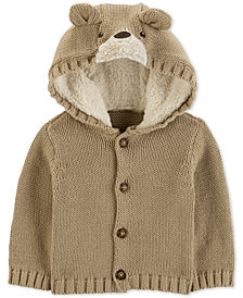 Carter's Baby Boys Bear-Hood Caridgan
