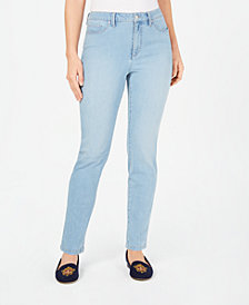 Charter Club Tummy Control Skinny Jeans, Created for Macy's