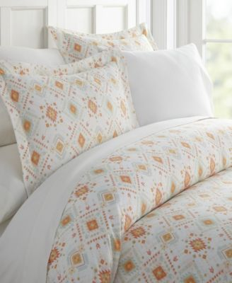 Lucid Dreams Patterned Duvet Cover Set by The Home Collection, King/Cal King