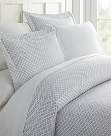 Home Collection Premium Ultra Soft Polaris Pattern 3 Piece Duvet Cover Set