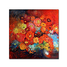 Oxana Ziaka 'Red Nature Morte' Canvas Art Collection
