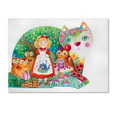 Oxana Ziaka 'Happy Birthday 1' Canvas Art Collection