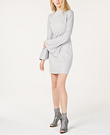 I.N.C. Petite Bell-Sleeve Sweater Dress, Created for Macy's