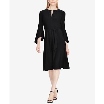 Lauren Ralph Lauren Keyhole A-Line Dress