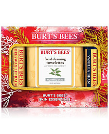 Burt's Bees 3-Pc. Skin Essentials Holiday Gift Set