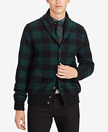 Polo Ralph Lauren Men's Checked Cardigan