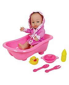 Lissi Doll - Baby with Bathtub