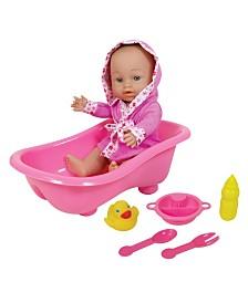 Lissi Doll - Baby With Bathtub