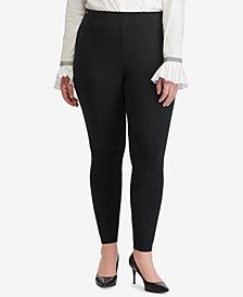 Lauren Ralph Lauren Plus Size Ponté-Knit Skinny Pants