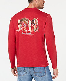 Tommy Bahama Men's Mele Kalikimaka Lux Textured Graphic T-Shirt