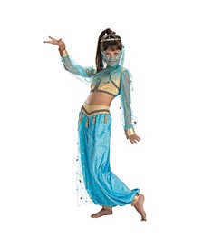 Mystical Genie Little and Big Girls Costume