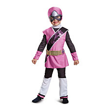 Pink Ranger Ninja Steel Deluxe Little Girls Costume
