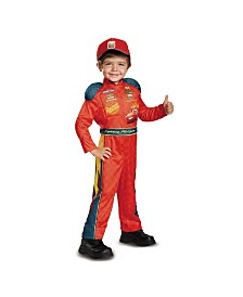 Cars 3 Lightning Mcqueen Classic Toddler Little and Big Boys or Girls Costume