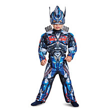 Transformers Optimus Prime Toddler Boys Muscle Costume