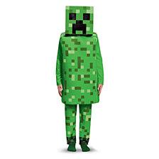 Minecraft Creeper Deluxe Big Boys Costume