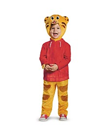 Daniel Tiger Deluxe Toddler Little and Big Boys Costume
