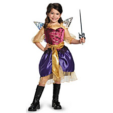 Tinker Bell and The Pirate Fairy Pirate Zarina Toddler Girls Costume