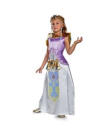 Legend of Zelda Princess Zelda Deluxe Little and Big Girls Costume