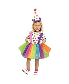 Big Top Fun Toddler Little and Big Girls Costume