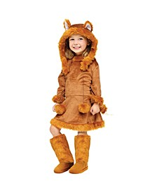 Sweet Fox Little and Big Girls Costume