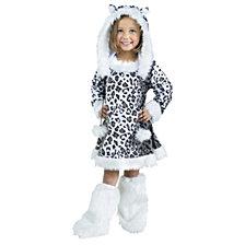 Snow Leopard Toddler Costume