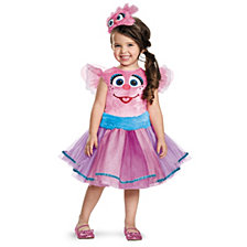 Abby Tutu Deluxe Little Girls Costume