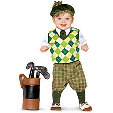 Future Golfer Toddler Boys Costume