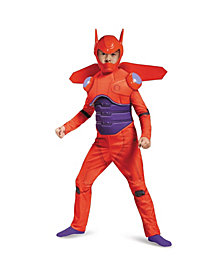 Big Hero 6 Baymax Deluxe Muscle Toddler Boys Costume