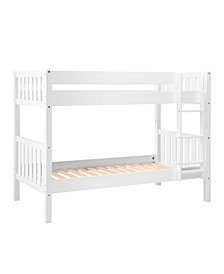 Solid Wood Cottage Slat Bunk Bed