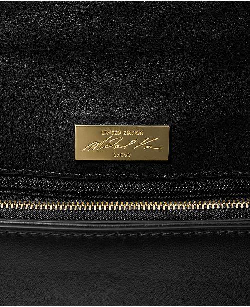 4640b63de923 ... Michael Kors Floral Studded Limited Edition Whitney Shoulder Bag ...