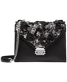 MICHAEL Michael Kors Beaded Floral Limited Edition Whitney Shoulder Bag