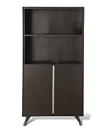 Malin Bookcase with Door, Quick Ship