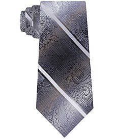Men's Harvey Paisley Stripe Tie