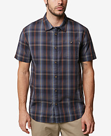Oneil Men's Anchored Short-Sleeve Woven Shirt