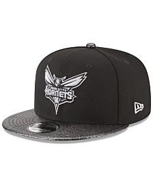41c6baec55cb New Era Charlotte Hornets Snakeskin Sleek 9FIFTY Snapback Cap