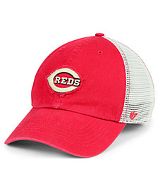 '47 Brand Cincinnati Reds Tally CLOSER Stretch Fitted Cap