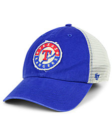 '47 Brand Texas Rangers Tally CLOSER Stretch Fitted Cap