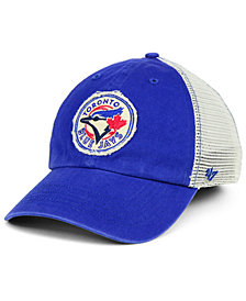 '47 Brand Toronto Blue Jays Tally CLOSER Stretch Fitted Cap