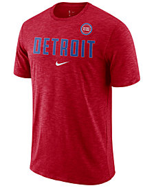 Nike Men's Detroit Pistons Essential Facility T-Shirt