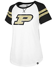 '47 Brand Women's Purdue Boilermakers Fly Out Raglan T-Shirt