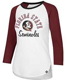 '47 Brand Women's Florida State Seminoles Script Splitter Raglan T-Shirt