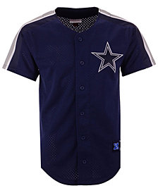 Mitchell & Ness Men's Dallas Cowboys Winning Team Mesh Button Front Jersey
