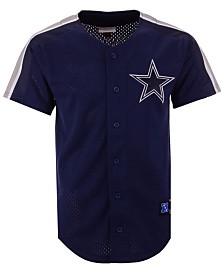 Mitchell & Ness Men's Dallas Cowboys Winning Team Mesh Button Front Jersey