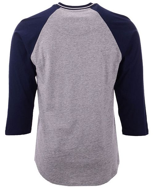 Mitchell   Ness Men s Dallas Cowboys Four Button Henley T-Shirt ... 8161c2daf
